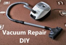 Vacuum Repair At home