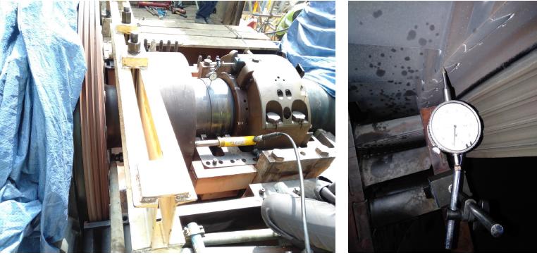 GasTurbine Shell Lifting, Bump Test, Exhaust Shell, Bearings