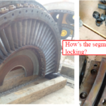 Gas Turbine Bellmouth IGVs Dismantling