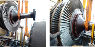 Turbine Rotor, Compressor Rotor Coupling Engagement Installation