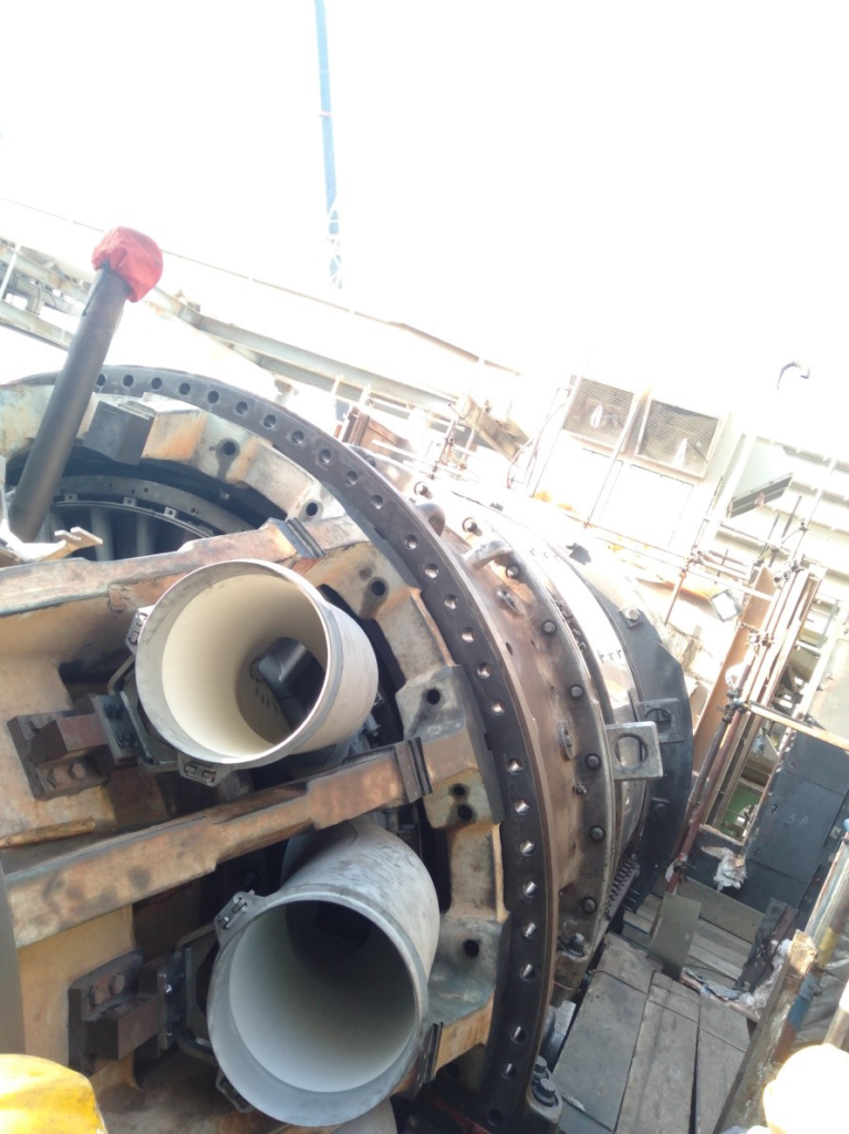 Combustion Wrapper Casing Installation